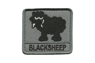 Plakietka Haasta Haft Black Sheep