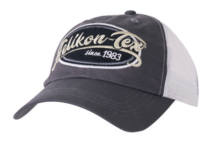 Czapka Helikon Trucker Logo Cap Cotton Twill - Shadow Grey