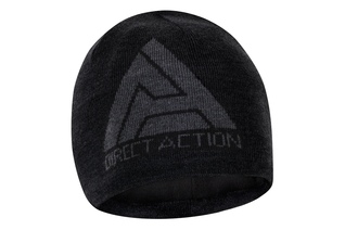 Czapka Direct Action Winter Beanie  Merino Wool/Acrylic Black