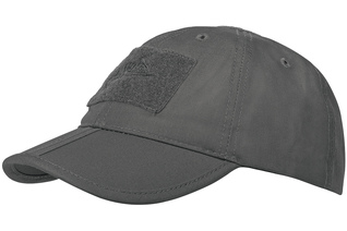 czapka Helikon Baseball FOLDING Cotton ripstop shadow grey