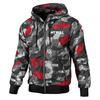 Kurtka Pit Bull Athletic VII Black-Red Camo