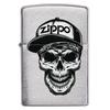 Zapalniczka ZIPPO Skull In Cap Design