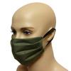 Maska bawełniana na twarz - olive