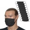 ZESTAW 10 szt. - Maska bawełniana na twarz - czarny