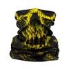 Komin wielofunkcyjny Pit Bull - RUNMAGEDDON Yellow Skull