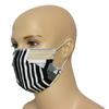 Zebra - bawełniana maska wielorazowa z certyfikatem OEKO-TEX