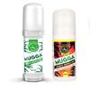 Zestaw - Repelent Środek na komary i inne owady Mugga Roll-On (kulka) 50ml 9,4% DEET + Mugga Strong Roll-On  50% DEET