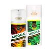 Zestaw - Repelent Środek na komary kleszcze i inne owady Mugga STRONG spray  50% DEET oraz Mugga Spray 9,4 DETT 75ml