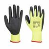 Rękawica powlekana PORTWEST A120 PU-Żółty/Czarny
