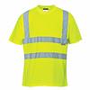 T-shirt ostrzegawczy PORTWEST S478 - Żółty