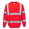 Bluza ostrzegawcza PORTWEST B303 - Czerwony