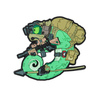 Emblemat Helikon Chameleon Operator Desert
