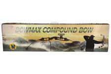 Łuk bloczkowy BOWMAX czarny, 35-65 lb
