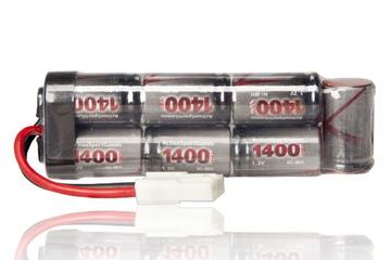 Akumulator - bateria ASG 8,4V 1400 mAh mini-U NiMH