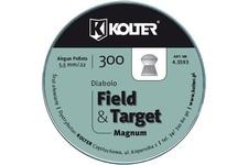 śrut 5,5 mm KOLTER DIABOLO FIELD TARGET 300 szt.