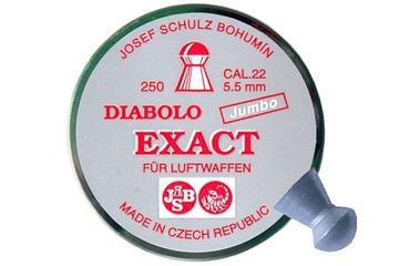 śrut 5,51 mm JSB EXACT JUMBO 250 szt.