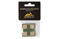 naszywka Helikon emblemat medyk PVC khaki