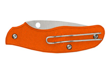 Nóż Spyderco C179POR SPY-DK Plainedge Orange FRN