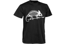 t-shirt Helikon szkielet kameleona czarny
