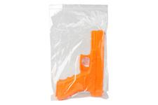 Atrapa gumowa ESP - pistolet GLOCK 17-R, pomarańczowy