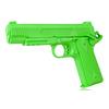 Atrapa gumowa - pistolet COLT 1911, zielony