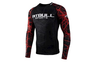 Rashguard termoaktywny Pit Bull Red Ray Long Sleeve