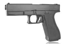 Atrapa gumowa - pistolet Glock