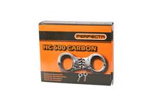 Kajdanki zawiasowe PERFECTA HC 600, carbon