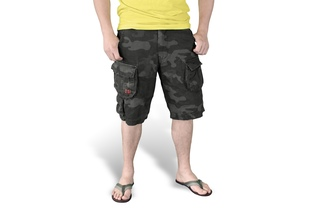 Spodnie SURPLUS TROOPER SHORTS Black Camo