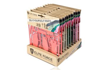 zestaw noży polimerowych ELITE FORCE 201 - 10 szt.