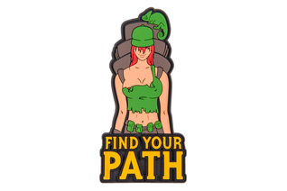 Emblemat Helikon Find Your Path - PVC - Olive Green