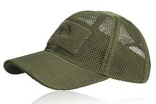 czapka baseball Helikon Mesh olive green
