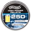 śrut 4,5 mm WALTHER HIGH-POWER płaski w polimerowym płaszczu 250 szt.
