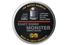 śrut 5,52 mm JSB EXACT JUMBO MONSTER 200 szt.