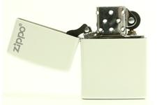 Zapalniczka ZIPPO White Matte z logo Zippo