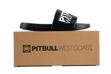 Klapki Pit Bull TNT'20 - Czarne/Białe
