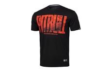 Koszulka Pit Bull Orange Dog'19 - Czarna