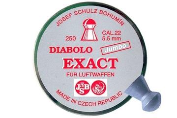 śrut 5,52 mm JSB EXACT JUMBO 250 szt.
