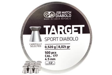 śrut 4,5 mm JSB TARGET SPORT 500szt.