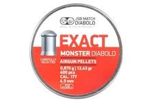 śrut 4,52 mm JSB EXACT MONSTER DIABOLO 400 szt.