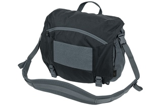 torba Helikon Urban Courier Large czarna/shadow grey