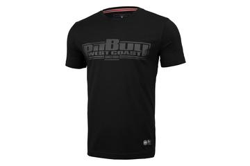 Koszulka Pit Bull Slim Fit Lycra Boxing'20 - Czarna