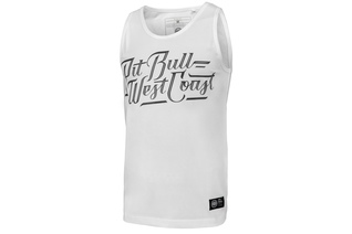 Tank Top Pit Bull Slim Fit Lycra Speed'20 - Biały