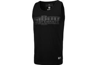Tank Top Pit Bull Slim Fit Lycra Boxing'20 - Czarny