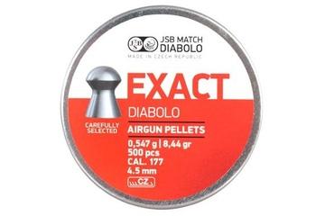 śrut 4,52 mm JSB EXACT 500 szt.
