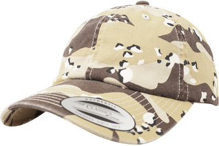 Czapka BRANDIT Low Profile Camo Washed