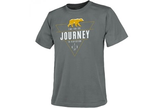 t-shirt Helikon Journey To Perfection - Szara