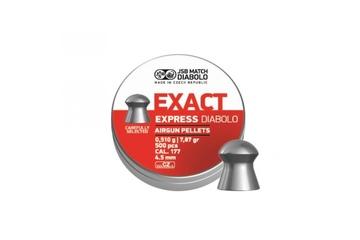śrut 4,52 mm JSB EXACT EXPRESS DIABOLO 500 szt.