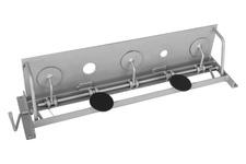 Kulochwyt BIATHLON stopniowany, średnica otworów 15-40mm