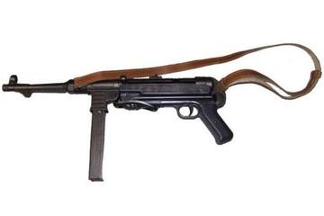 Replika MP-40 Schmeisser z pasem